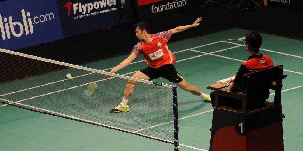 teknik dasar badminton