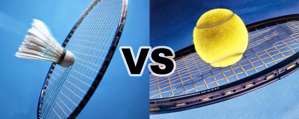 Tenis dan badminton
