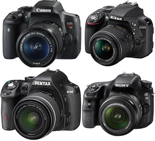 kamera dslr 4 merek