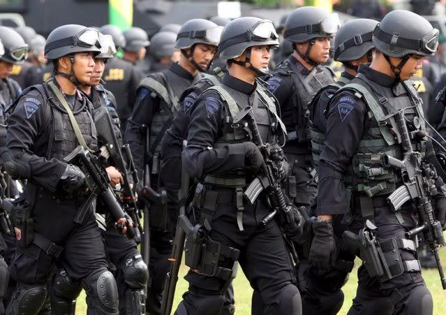 pasukan keamanan Indonesia