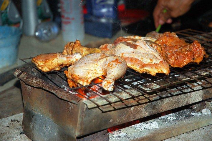 ayam dibakar