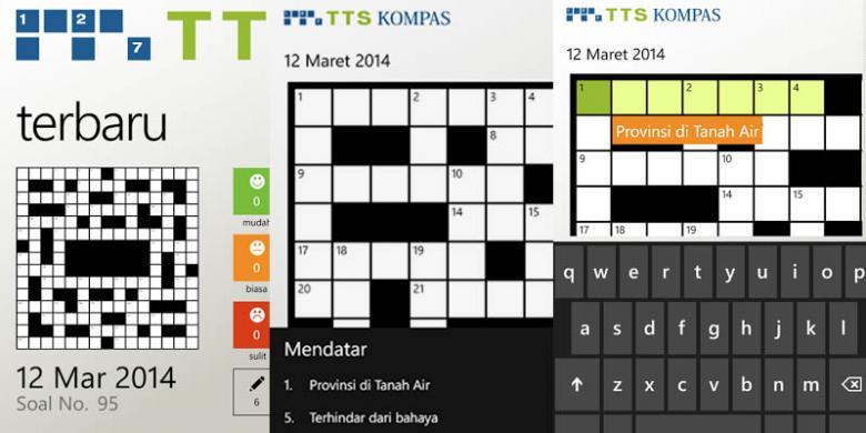 Aplikasi Kompas TTS