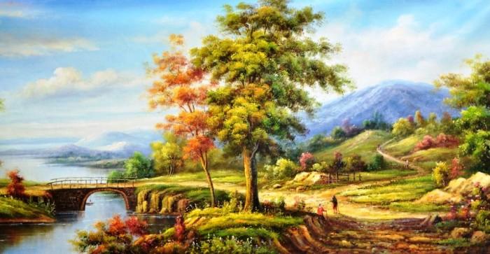 Apa Pendapat Anda Tentang Lukisan Pemandangan Cina Galena