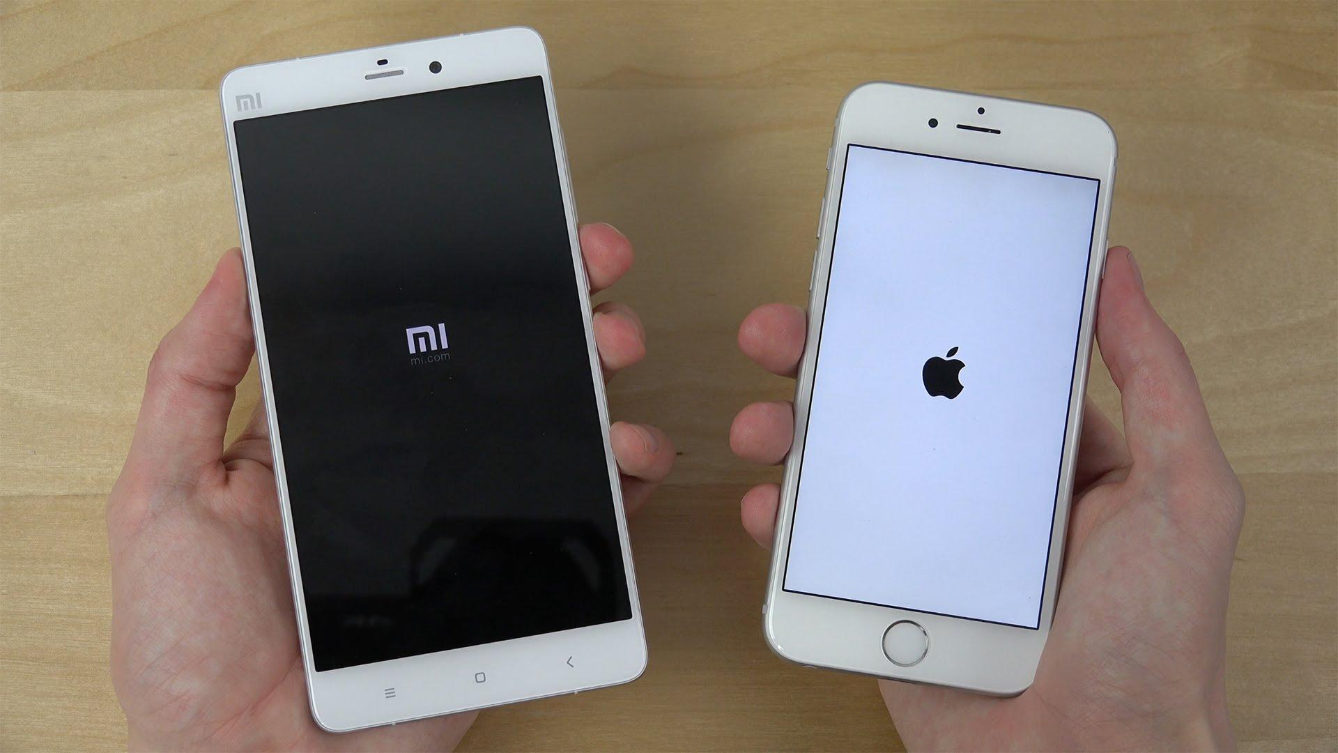 Perbandingan layar Xiaomi vs iPhone
