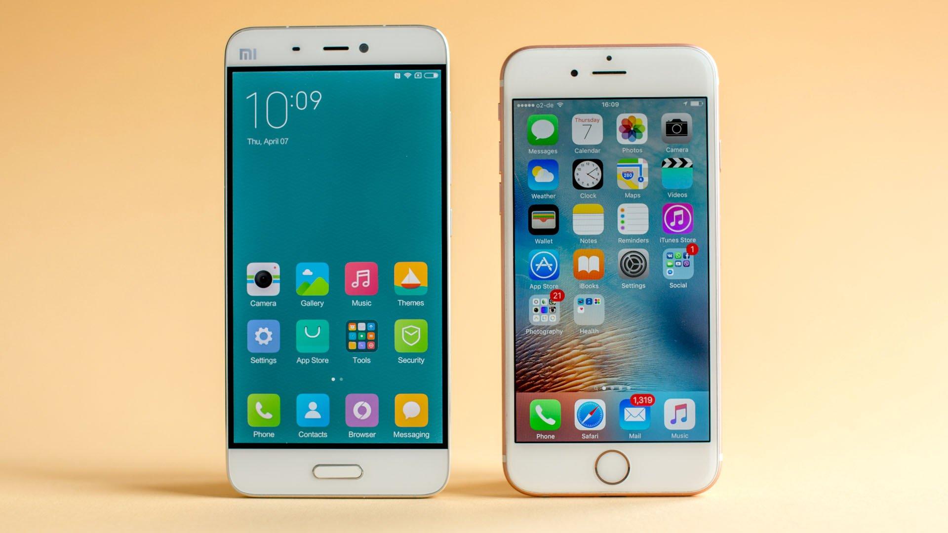 Perbedaan sistem operasi Xiaomi vs iPhone