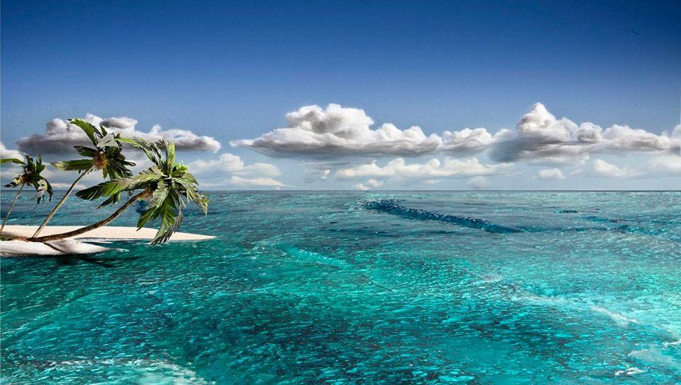 1020+ foto pemandangan pantai kartun HD Terbaik