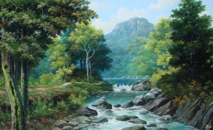 47+ Gambar Pemandangan Alam Dengan Warnanya HD Terbaru