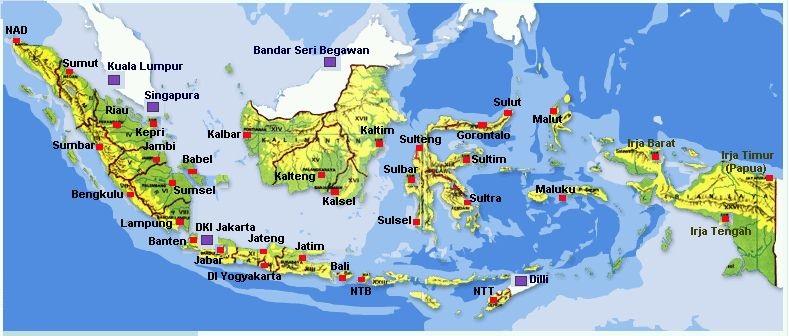 Kenapa Indonesia Memiliki Banyak Pulau Galena