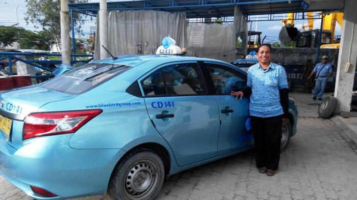 taksi blue bird