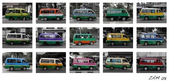 angkutan umum di Indonesia