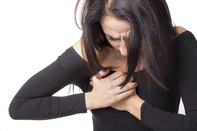 sakit dada saat marah