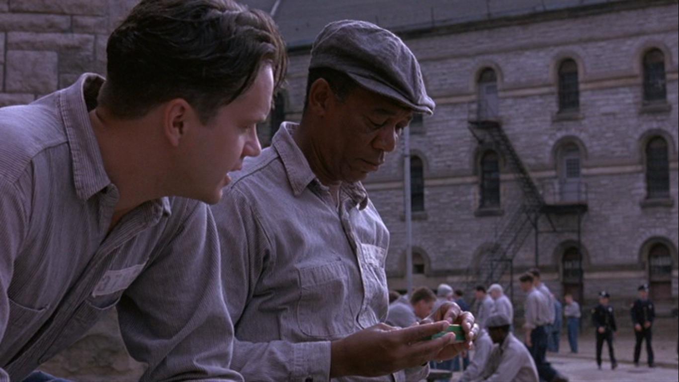 pesan moral film shawshank redemption