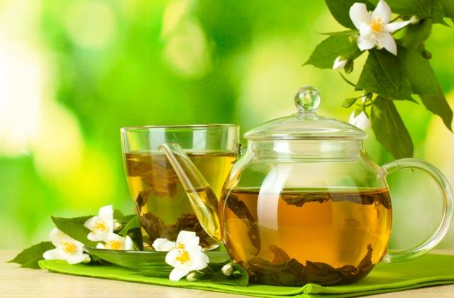 aroma teh hijau