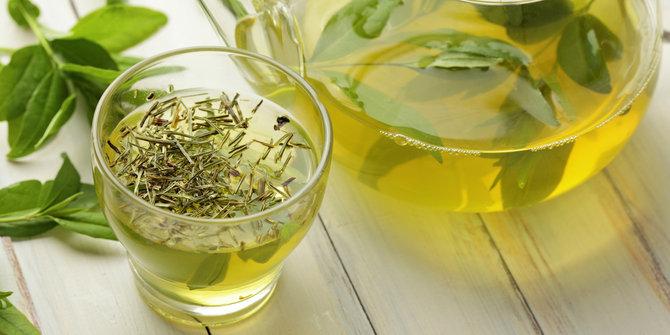 teh hijau terbaik