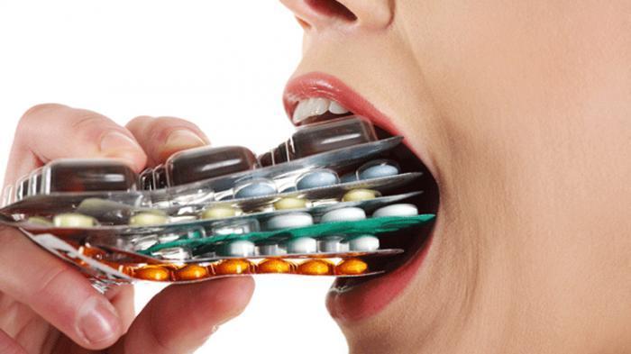 terlalu banyak mengkonsumsi antibiotik