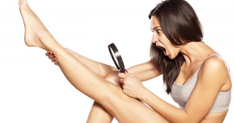 mencukur bulu kaki