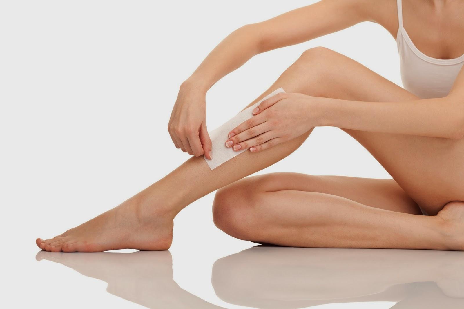 efek mencukur bulu kaki