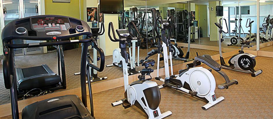 olahraga di gym