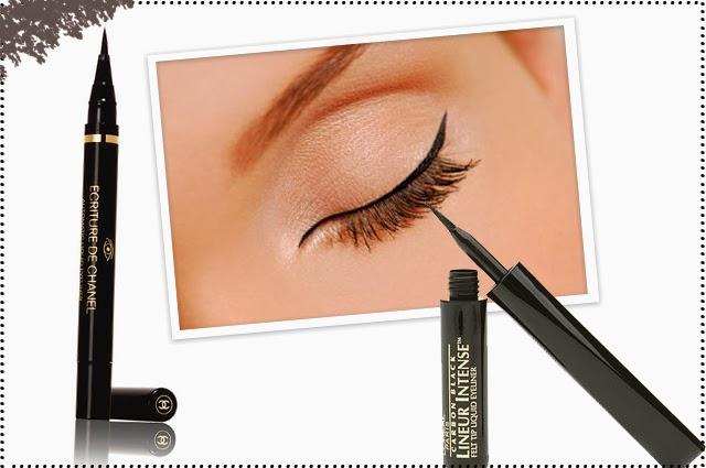 model eyeliner