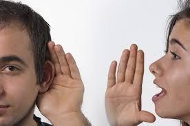 mendengar dan berbicara