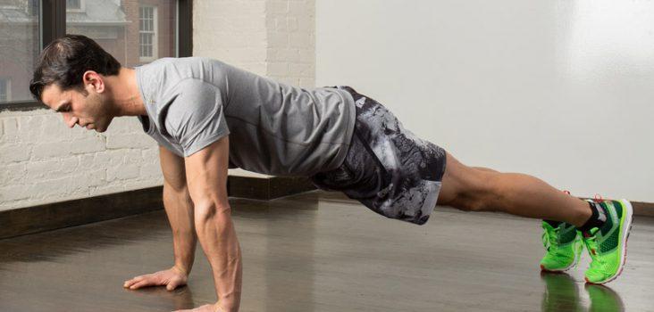 Manfaat push up untuk memperbaiki postur tubuh