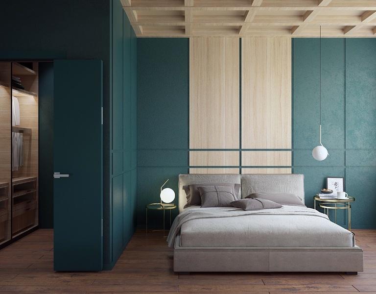 model kamar tidur bagus