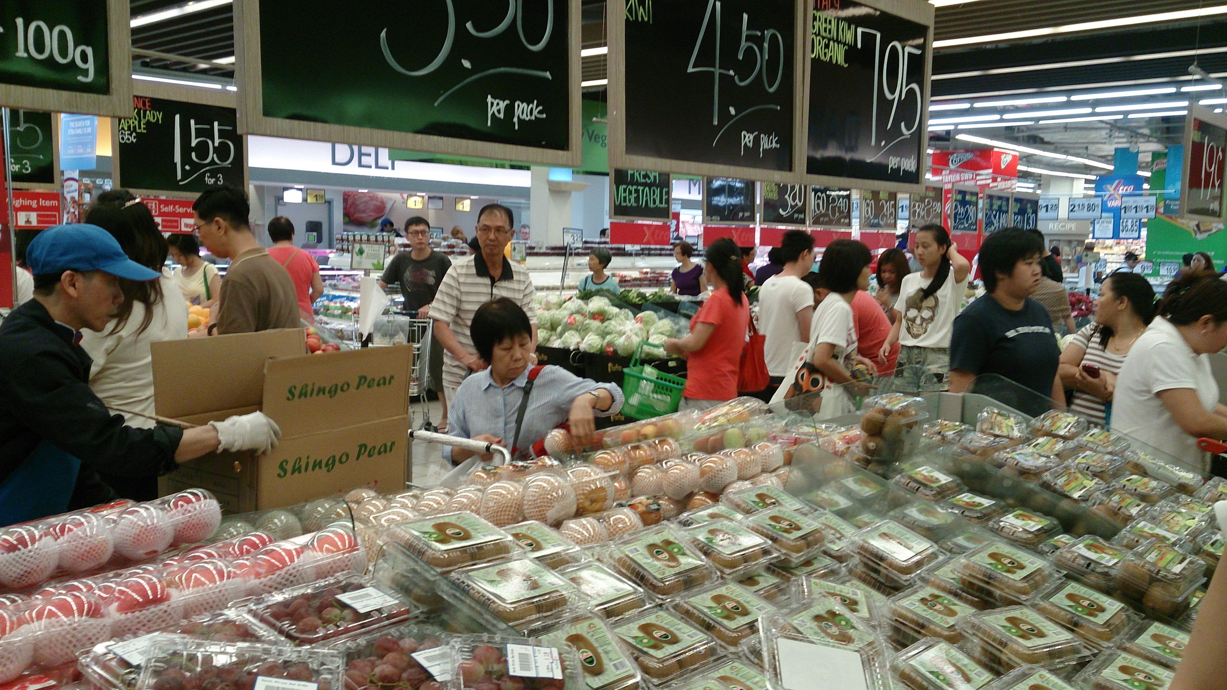 biaya hidup d Singapura