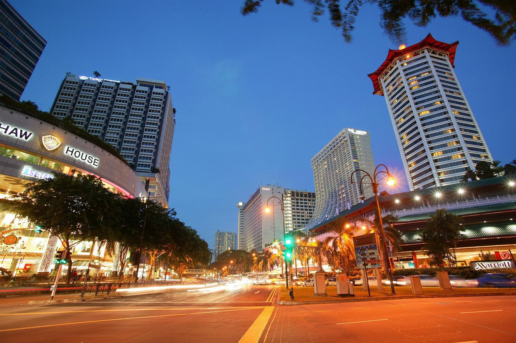 keuntungan tinggal di Singapura