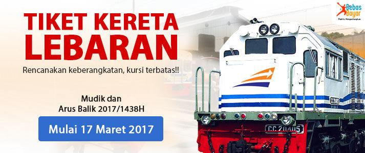 tiket kereta api lebaran tambahan