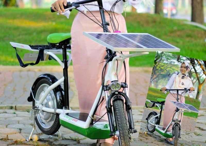 kegunaan sepeda listrik