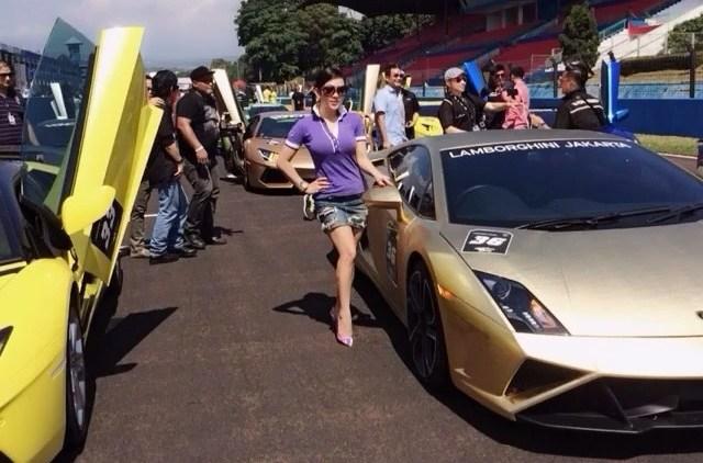 artis Indonesia yang memiliki mobil mewah