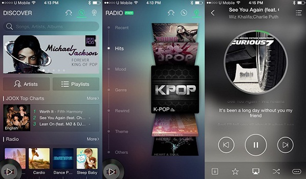 Aplikasi musik JOOX