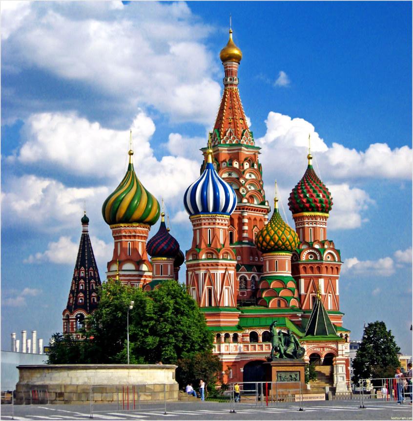 Gereja Ortodoks, Katedral Santo Basil di Moskwa